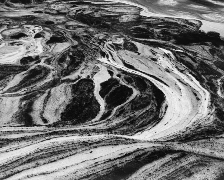 Larry Silver - Water #7,2004 Gelatin silver print, printed c. 2004 | Bruce Silverstein Gallery