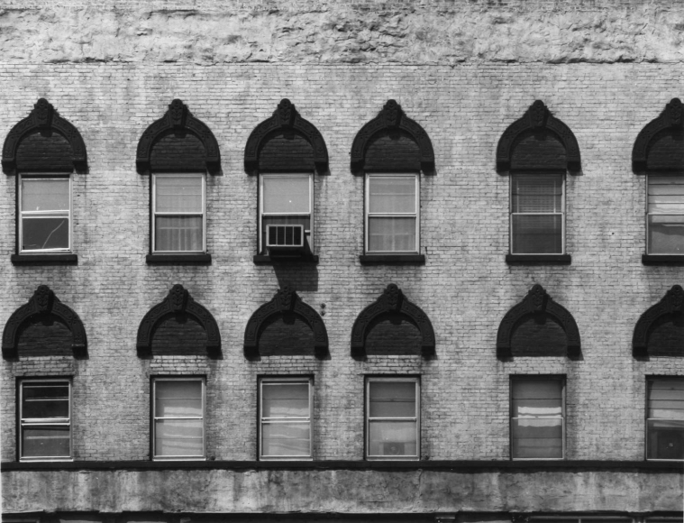 Aaron Siskind Chicago Facade 10, 1957 Gelatin silver print, printed c.1957 8 x 10 inches