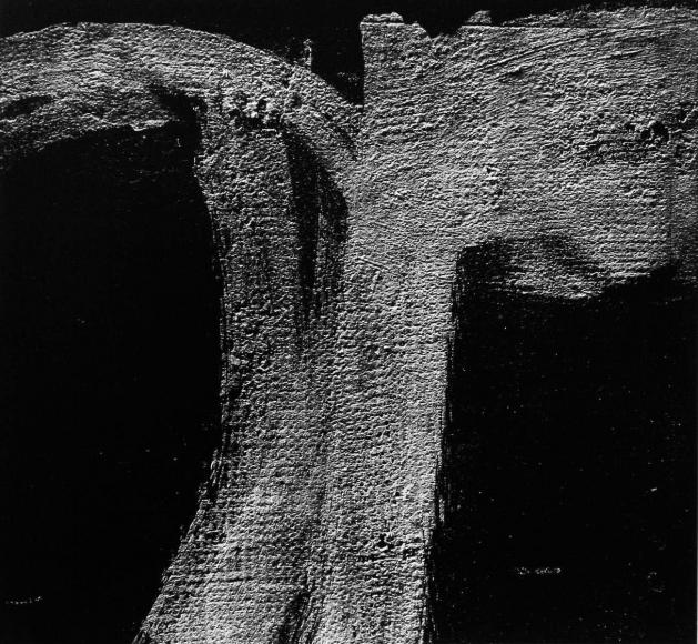 Aaron Siskind Rome 50, Homage to Franz Kline, 1973 Gelatin silver print, printed c.1973 20 x 16 inches