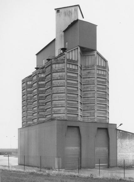 Bernd and Hilla Becher - Grain Elevator, Morgangis / Epernay, F, 2006  | Bruce Silverstein Gallery