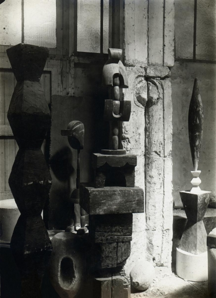 Constantin Brâncuşi - View of the Studio: Portrait of Madame L.R., c. 1920 | Bruce Silverstein Gallery
