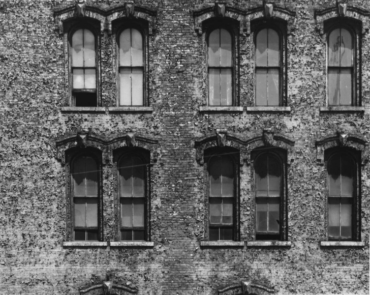 Aaron Siskind Chicago Facade 9, 1957 Gelatin silver print, printed c.1957 8 x 10 inches