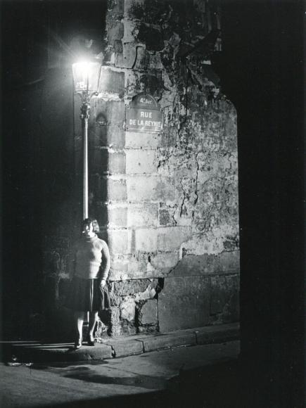 BrassaiFille des Halle, Pres de Sebastopol, c.1932 Gelatin silver print, printed c. 1955. 8 3/16 x 11 3/8 inches