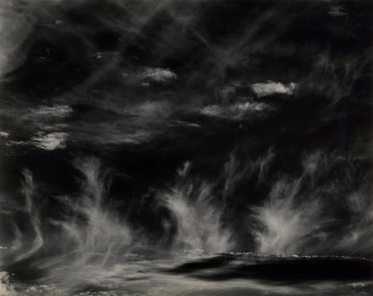 Edward Weston Clouds, Santa Monica, 1936 Gelatin silver print, printed c.1936 8 x 10 inches