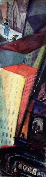 Barbara Morgan - Untitled, c. 1930 Watercolor on paper | Bruce Silverstein Gallery