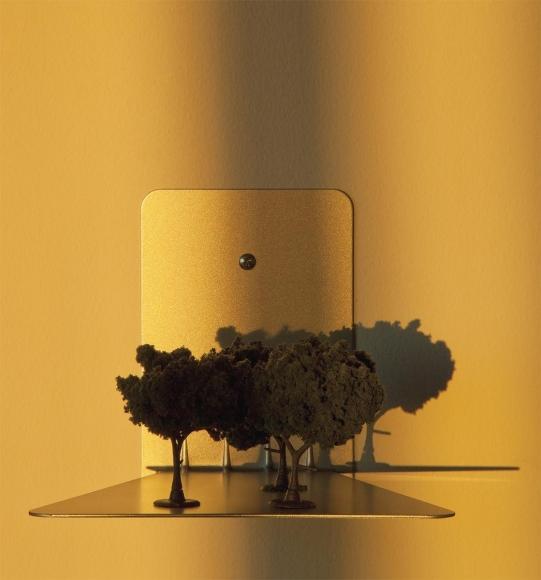 Sun Setting, 2014, Chromogenic print. 14 x 15 inches