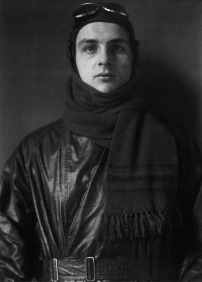 August Sander - Aviator, 1920  | Bruce Silverstein Gallery