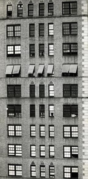 André Kertész - Untitled (Building), 1950 Gelatin silver print, printed c. 1950 ; Bruce Silverstein Gallery