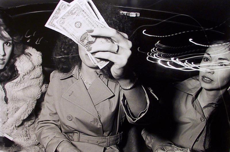 Ryan Weideman - Beauty Aloof, 1982 Gelatin silver print ; Bruce Silverstein Gallery