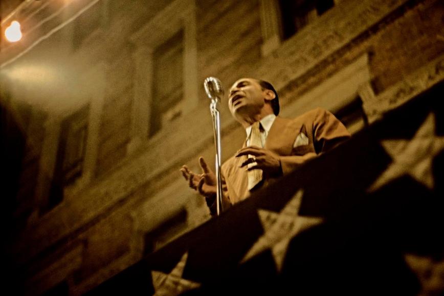 Marvin E. Newman - San Gennaro Festival III, 1952  | Bruce Silverstein Gallery