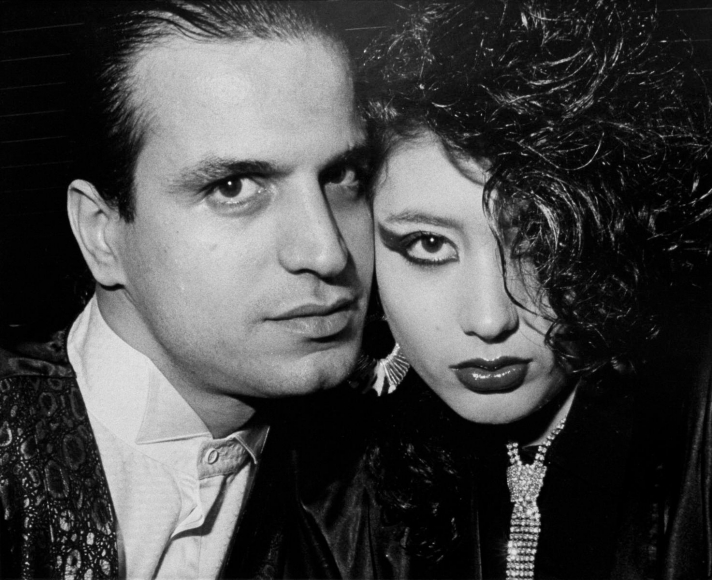 Ryan Weideman- Close Up Vampire With Nymphette, 1986 Gelatin silver print   Bruce Silverstein Gallery