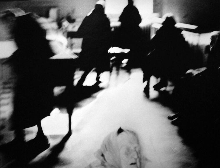 Verra la morte e avra i tuoi occhi, 1954-83 	(Death will come and have your eyes) 	Gelatin silver print, printed c. 1970-83 	9 1/2 x 12 inches