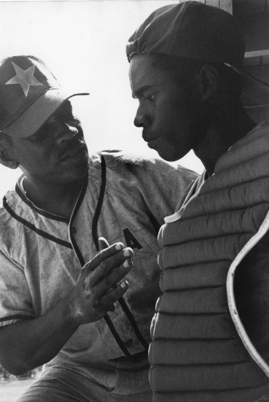Chester Higgins -  Coach and Catcher, Tuskegee, Alabama, 1973