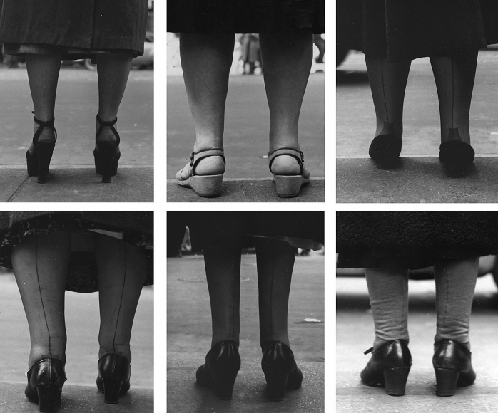 Untitled (Womens Legs), 1951 	Gelatin silver print, printed c. 1951 	4 1/2 x 3 1/2 inches each