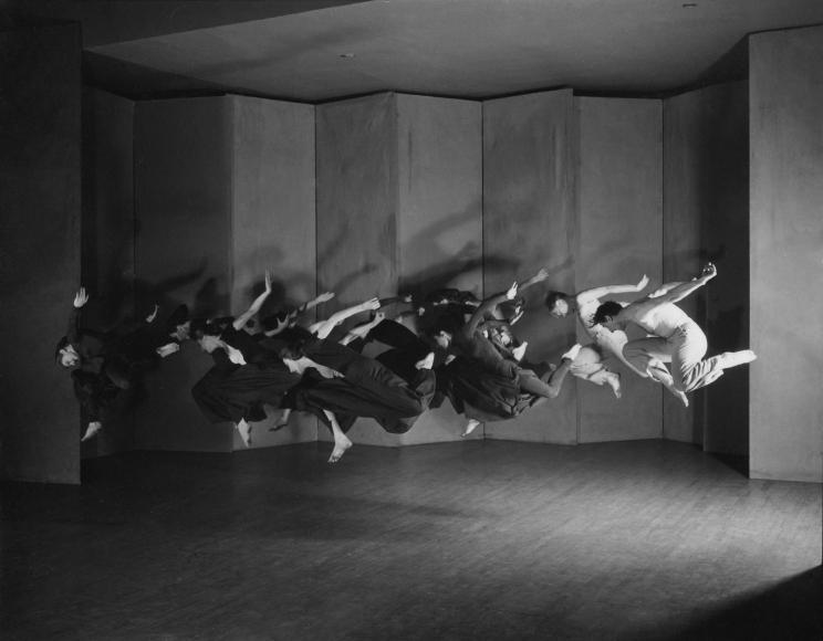 Barbara Morgan - Charles Weidman, Lynchtown (Humphrey-Weidman Group), 1938 Gelatin silver print, printed later | Bruce Silverstein Gallery