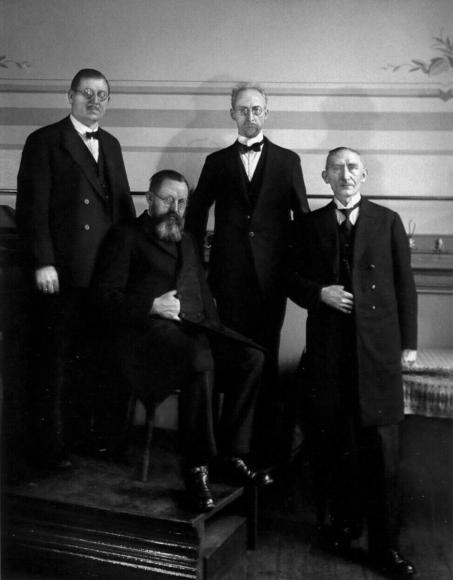 August Sander - Urban Missionaries, c. 1931  | Bruce Silverstein Gallery