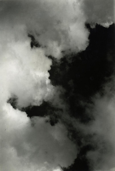 Imogen CunninghamCloud Study, 1939 Gelatin silver print mounted to board, printed c.1939 9 1/4 x 6 1/4 inches