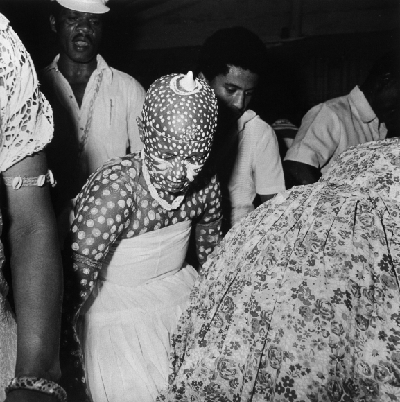 Condomble initiation trance, Salvador, Bahia, Brazil, 1980