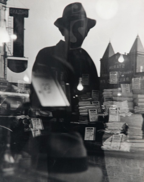 Lisette Model - First Reflection, New York, 1939-40  | Bruce Silverstein Gallery
