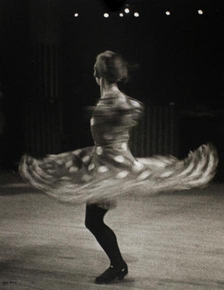 Ilse BingCan Can Dancer, Moulin Rouge, Paris, 1933 Gelatin silver print, printed 1990. 14 x 11 inches