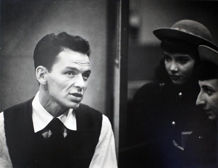 Frank Sinatra, c. 1947-51  Gelatin silver print, printed c. 1947-51  20 x 24 inches