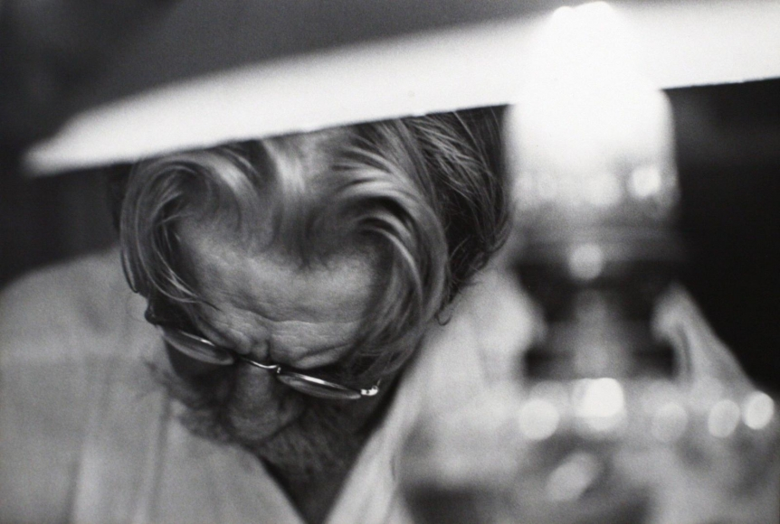 A Man of Mercy, Albert Schweitzer, 1954  	Gelatin silver print, printed c. 1954  	20 x 24 inches