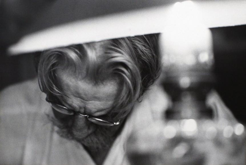 W. Eugene Smith - A Man of Mercy, Albert Schweitzer, 1954  | Bruce Silverstein Gallery