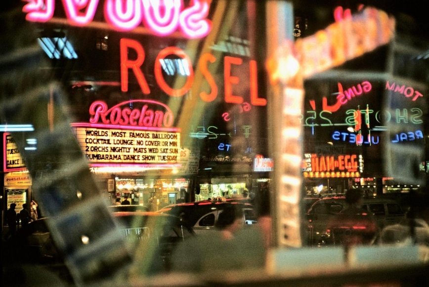 Broadway I, 1954 	Archival inkjet print 	17 x 22 inches