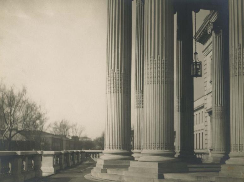 E. O. Hoppé - Columns, Washington D.C., 1926  | Bruce Silverstein Gallery