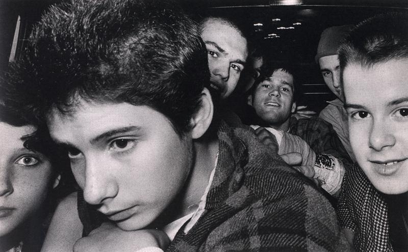 Ryan Weideman - 8 Punk Rockers (Beastie Boys), 1982 Gelatin silver print ; Bruce Silverstein Gallery