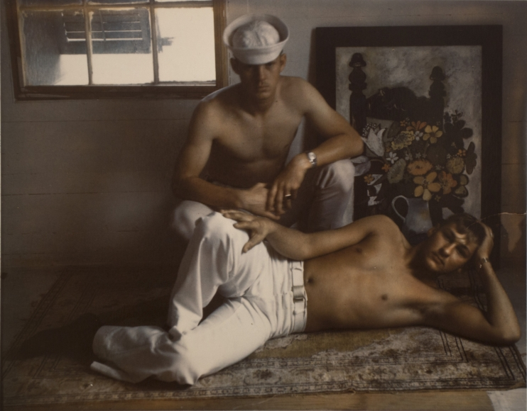 Marie Cosindas, Sailors, Key West, 1960
