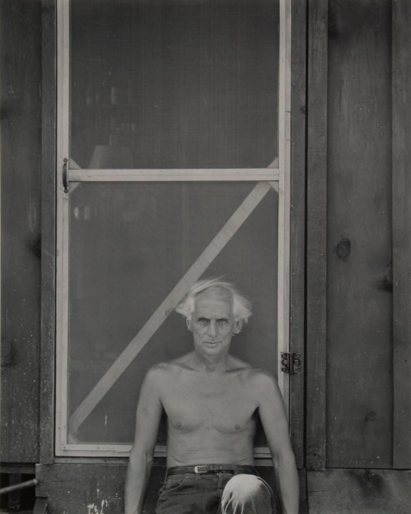 Frederick Sommer - Max Ernst in Sedona, 1946 Gelatin silver print mounted to board, printed c. 1960s | Bruce Silverstein Gallery