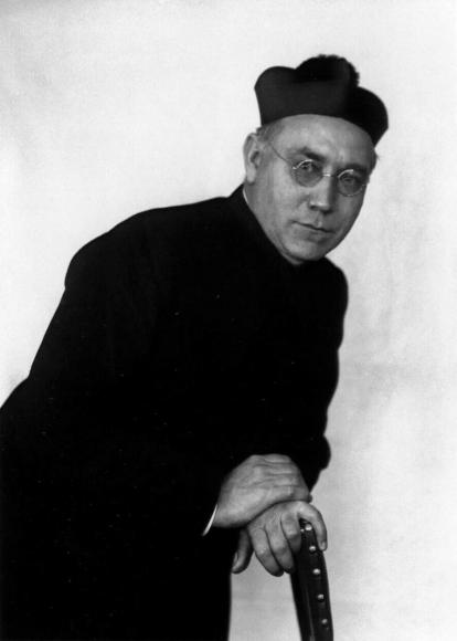 August Sander - Catholic Priest, 1927  | Bruce Silverstein Gallery