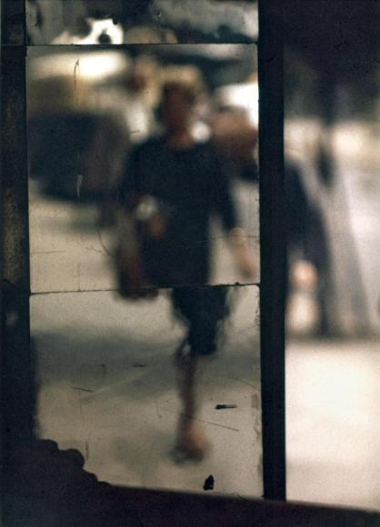 Saul Leiter -  Shopper, 1953  | Bruce Silverstein Gallery