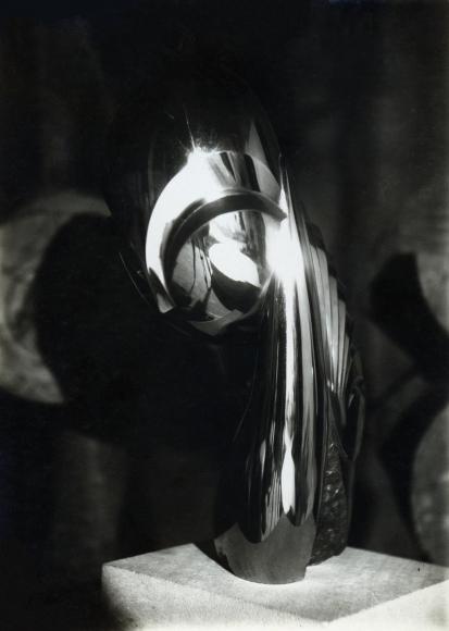 Constantin Brâncuşi - Mademoiselle Pogany II, Three-Quarter View, c. 1920-21 | Bruce Silverstein Gallery