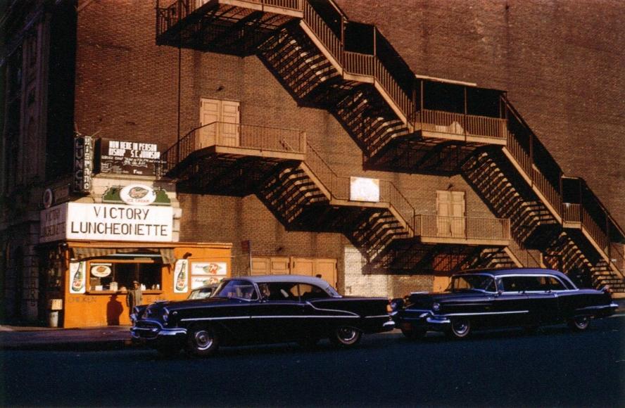 Inge Morath -  New York, 1958  | Bruce Silverstein Gallery