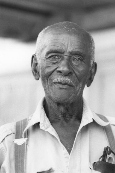 Chester Higgins -  Uncle March Fourth McGowan, New Brockton, Alabama, 1981