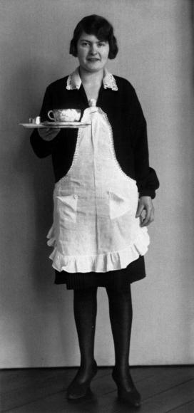 August Sander- Café Waitress, 1928-1929  | Bruce Silverstein Gallery
