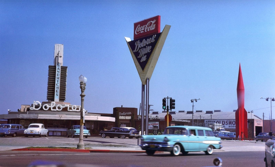 Inge Morath -  Hollywood, California, 1959  | Bruce Silverstein Gallery