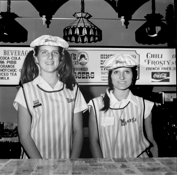 Melanie and Lisa, Mississippi, 1977 	Gelatin silver print, printed c. 2007, 	19 3/4 x 15 7/8 in.