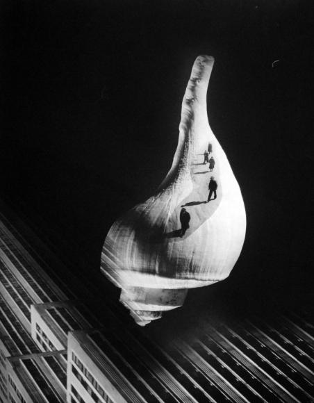 Barbara Morgan - City Shell, 1938 Photogram mounted to board, printed 1938 | Bruce Silverstein Gallery
