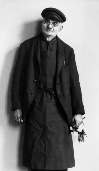 August Sander- Real Estate Agent, 1928  | Bruce Silverstein Gallery