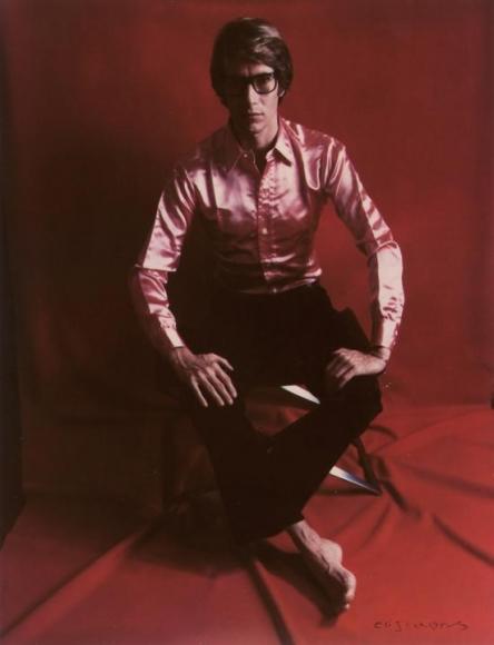 , Yves St. Laurent, Paris, 1968  Dye transfer print  8 1/4 x 6 3/8 in.