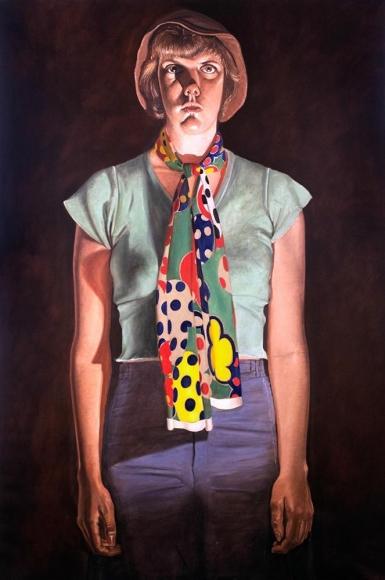 Alfred Leslie - Cindy Cresswell, 1976-1977 ; Bruce Silverstein Gallery