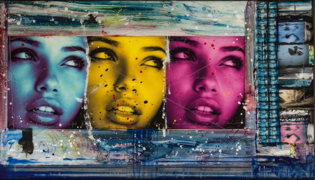 Raphael Mazzucco Adriana triptych, 2010
