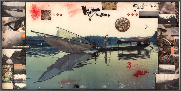 Raphael Mazzucco Vietnam Fishing Boat, 2017