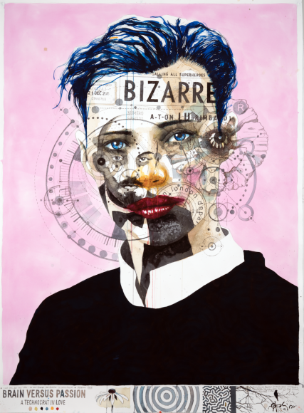 OleAakjær Brain Versus Passion - A Technocrat In Love, 2019