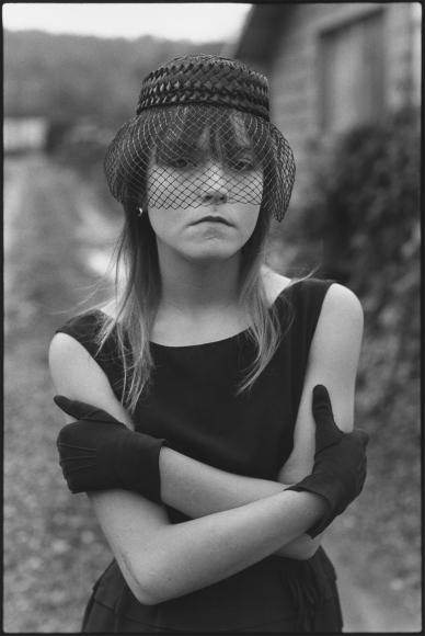 Mary Ellen Mark, Tiny in Her Halloween Costume, Seattle, 1983, gelatin silver print, 22 7/16 × 15 3/16 in.