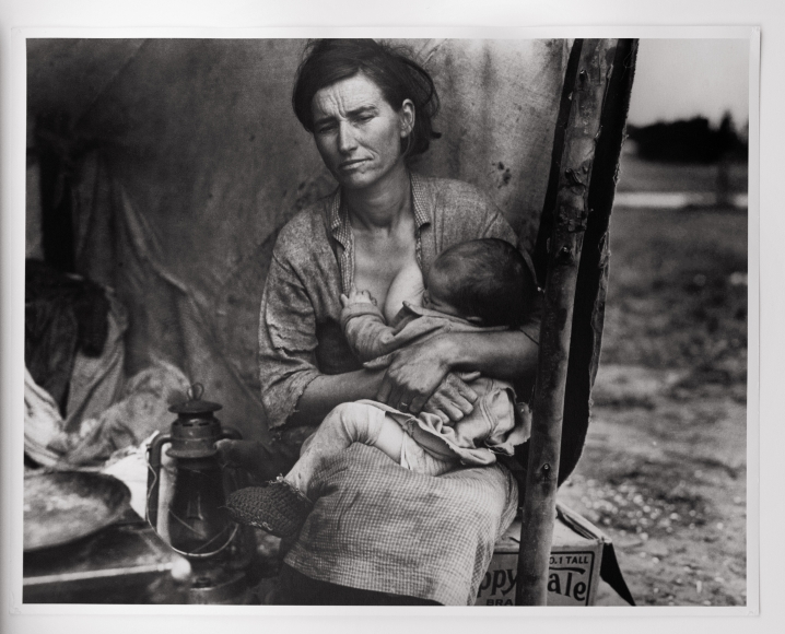 Dorothea Lange, From the Migrant Mother Sequence, 1936