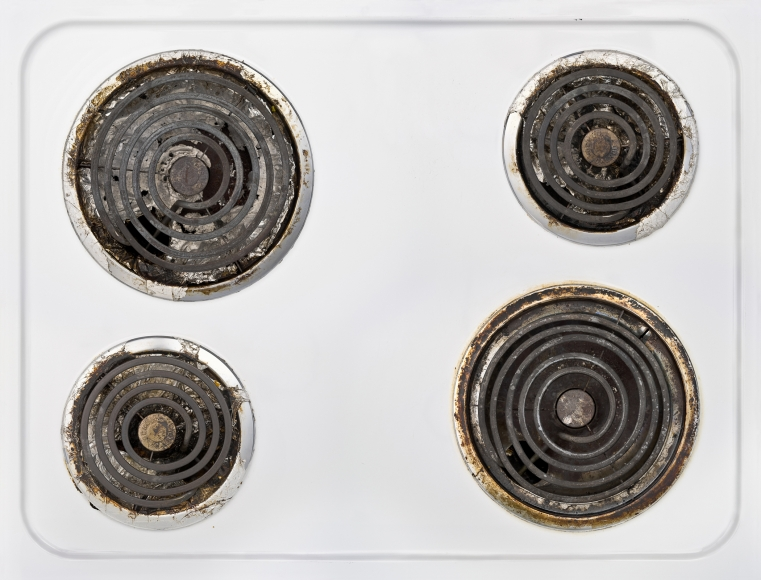 Issac Layman,Stove,2008, archival inkjet print, 59 x 70 inches